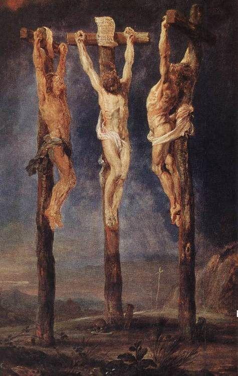 The Three Crosses: Peter Paul Rubens