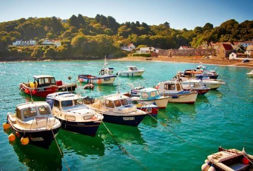 Rozel Bay - Jersey, Channel Islands