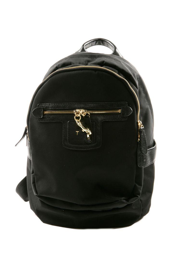Black Mini Lola Backpack
