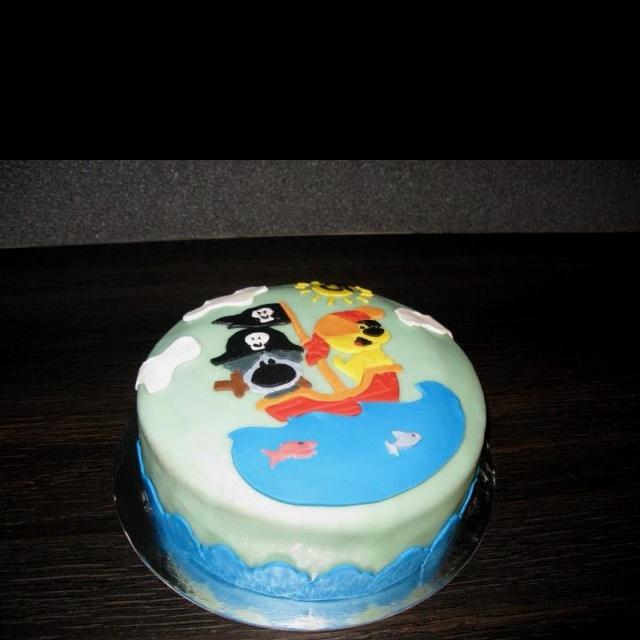 Woezel en Pip taart! Heerlijk!