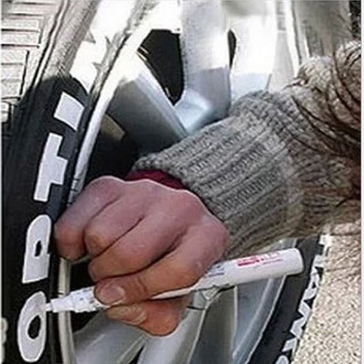Universal Multi Color Car Tire Pens Motorcycle Auto Waterproof Permanent Tyre Tire Care Tread Rubber Paint Marker Styling