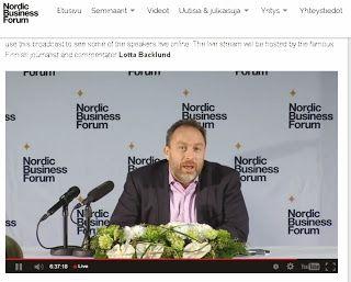 Piilotettu aarre: Jimmy Wales Jyväskylässä