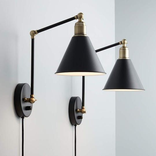 Best 25 Swing Arm Wall Lamps Ideas On Pinterest Swing Arm Wall Sconce Bedside Lamps For
