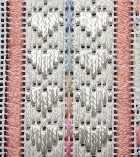 hugs border needlepoint stitch