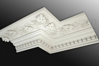 Plaster Coving and Ceiling Roses from the Victorian Cornice Company