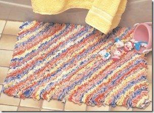 Как сшить коврик в туалет. - уроки кройки и шитья