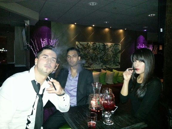 Party throughout the night with FLUID E HOOKAH! Visit us at fluidhookah.com