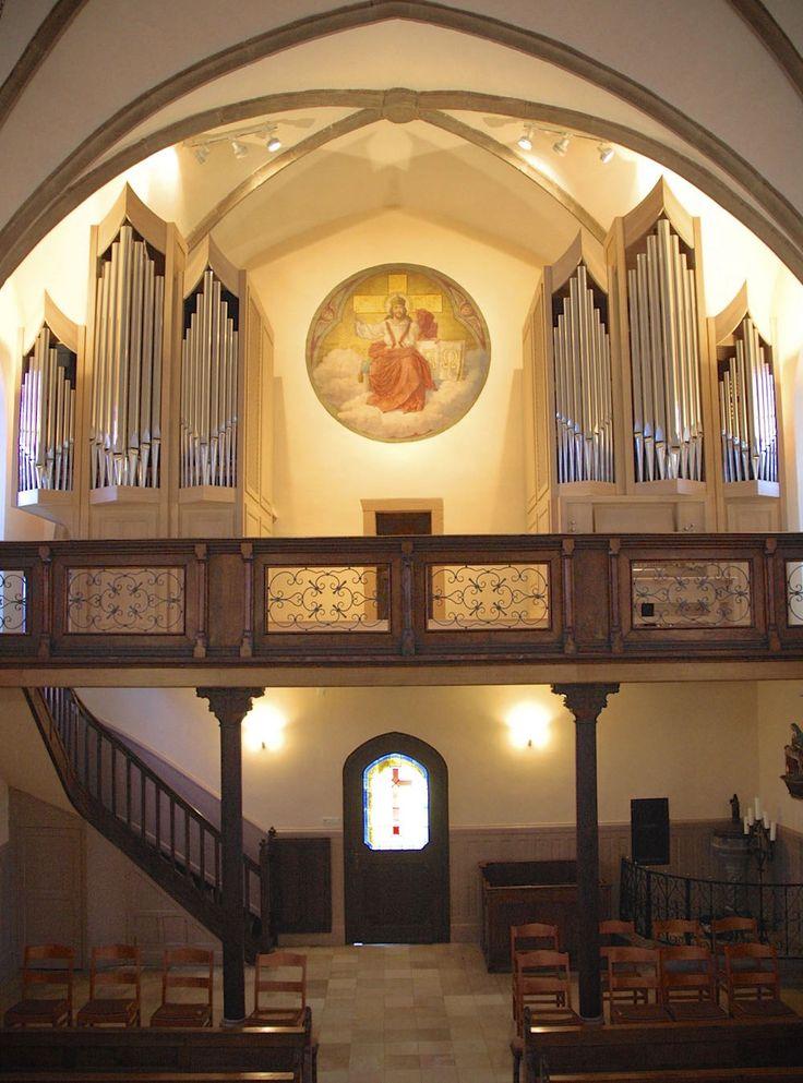 Heilig-Kreuz-Kirche Goesdorf (Luxemburg)   Orgelbau Göckel GmbH