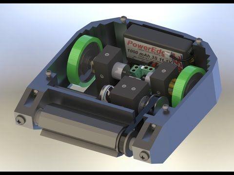 (42) 3lb Combat Robot Demonstration - Dylan Blaschke - YouTube
