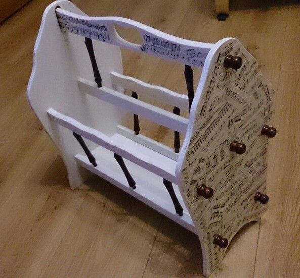 Vinegar Dish Rags: Upcycled 80s Magazine Rack
