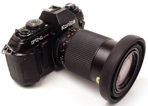 cameras;: Konica FT-1 motor; - from the other Martin Taylor