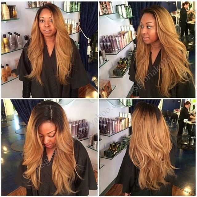 93 best dyed hair and weave images on pinterest strands black honey dip styled hairinspiration hairstyle hairstylist hairsalon weaves longhairdontcare pmusecretfo Choice Image
