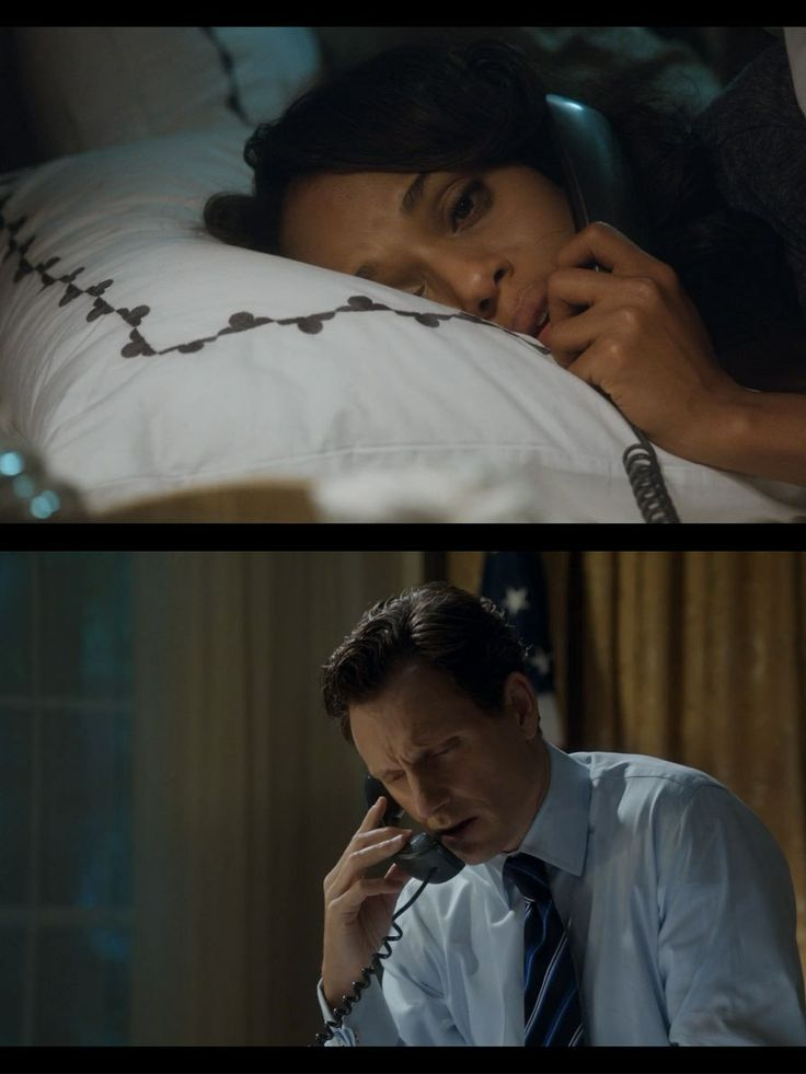 """On the phone late at night, Olivia tells Fitz that Edison asked her to marry him. Fitz tells Olivia he asked Mellie for a divorce. """"What's wrong, somethings wrong. I know you well enough to know.""""-Fitz """"You don't know. You don't know who I am. You don't know me. -Olivia    """"Livvie."""" -Fitz """"Edison asked me to marry him. He gave me a ring.""""  -Olivia    """"Livvie."""" -Fitz """"I could quit. Go have some babies. Live in the country or something. Make jam."""" -Olivia"""