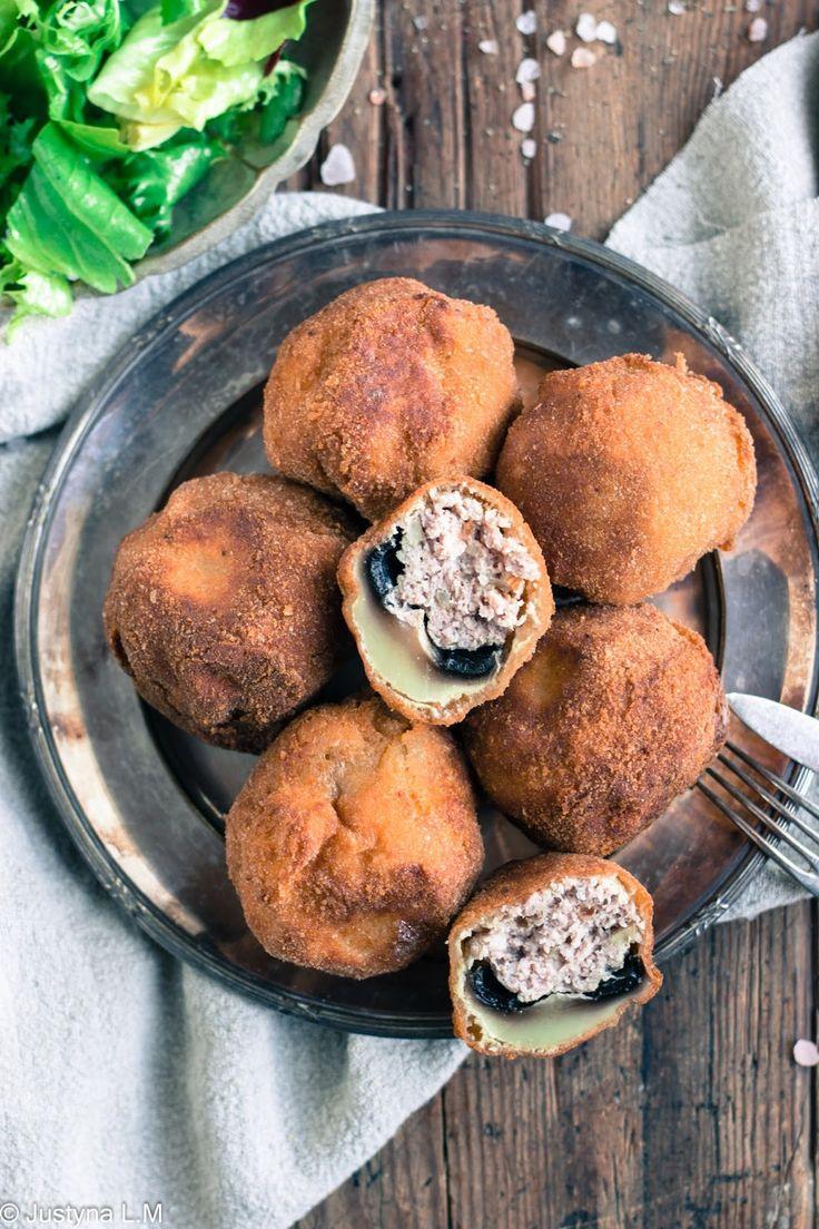Pieczarkowe kule z mięsem - Gotowanie i pieczenie - I love it .
