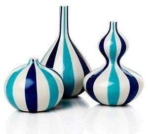 Striped Jonathan Adler bud vases for $14.97.