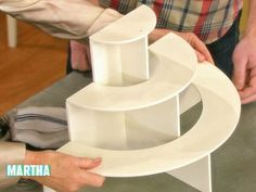 Home Depot Tip: DIY Cupcake Stand Videos | Entertaining How to's and ideas | Martha Stewart