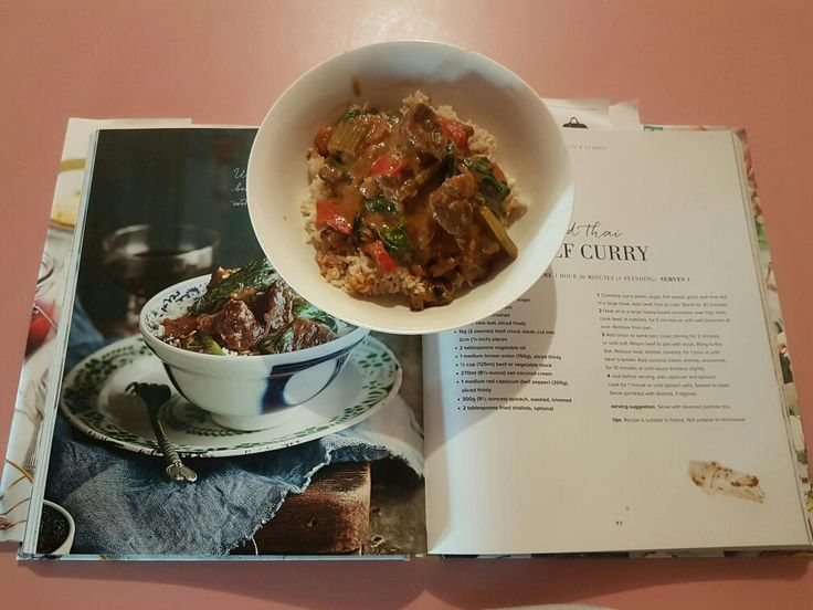 Red Thai Beef Curry Page 91