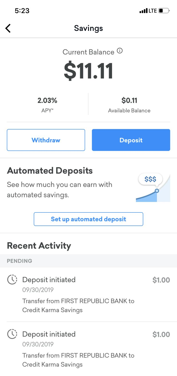 Credit Karma launches a highyield savings account that