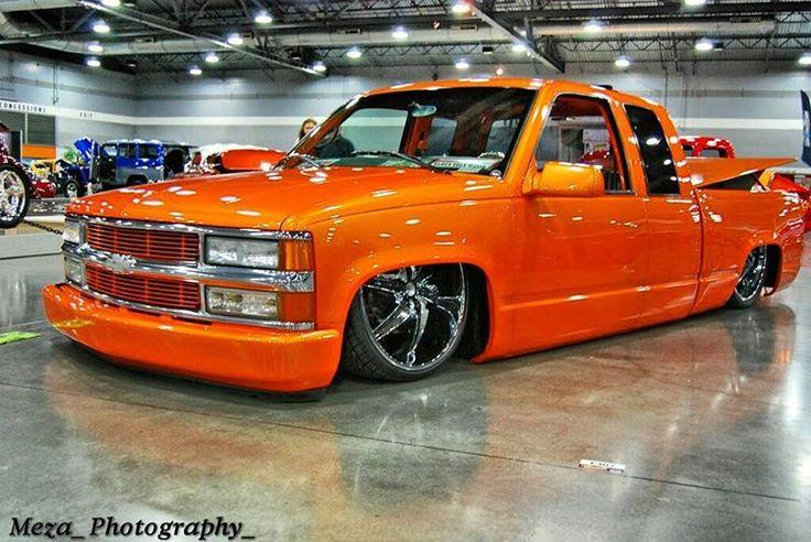 One clean obs. Love this things    ________________________________________________  #pdx #chevy #chevrolet #america #hp #huracan #camaro #corvette #vs#bagged #brown #24#rims #pdx #ferrari #white #gold #like #followme #italia #supercars #fast #cars #slammed #lowered #stance #lt4#lsx #silverado #baggeddaily #orange
