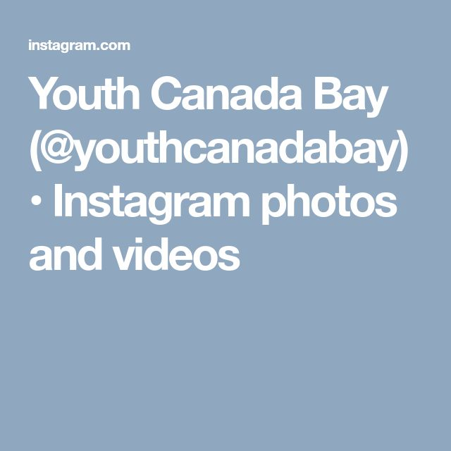 Youth Canada Bay (@youthcanadabay) • Instagram photos and videos