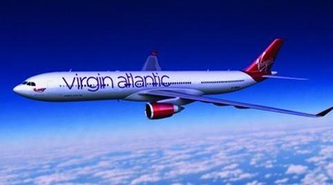 The last Virgin Atlantic rebrand by Johnson Banks in 2010