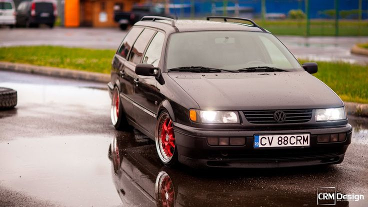 VW Passat B4 VR6 Turbo Tuning by Rares CRM (WOW)