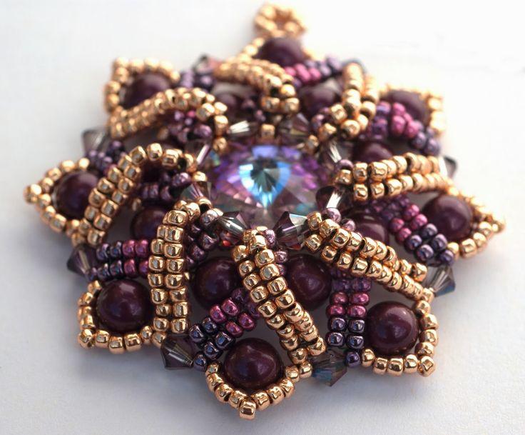 PrettyNett - unique handmade beaded jewelry: Sunny Day - der Anhänger