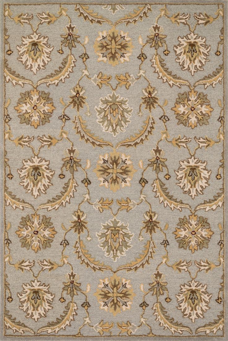 "Loloi Rugs - Ashford - 7'-6"" X 9'-6"" - Light Blue / Multi"