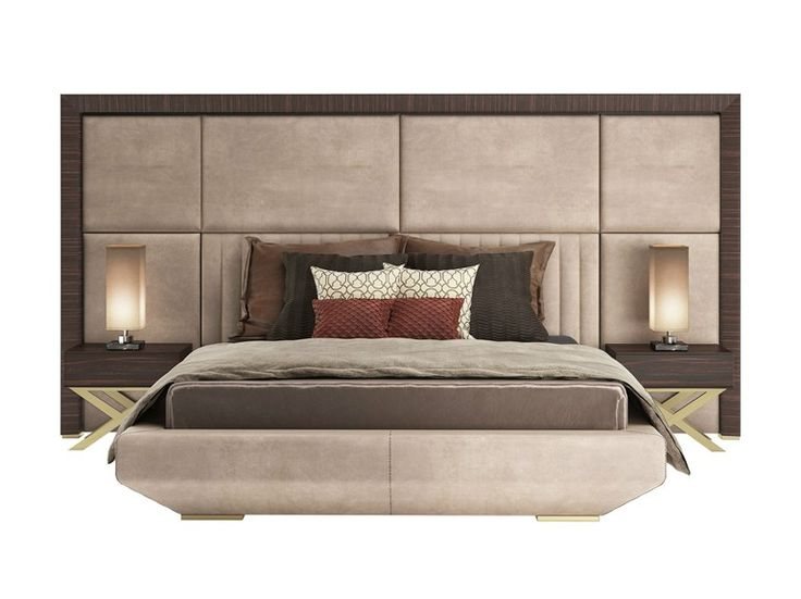 Double Bed With High Headboard Kimera Capital Collection