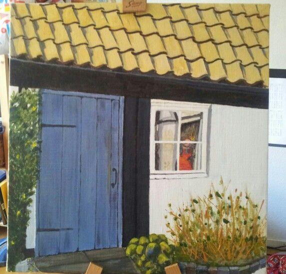 Acryl - small house