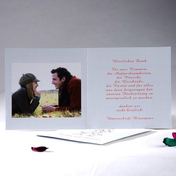 Blanko Schlicht Unique Dankkarten Hochzeit Mit Foto [OPD213]   U20ac0.00 : Günstige  Einladungskarten