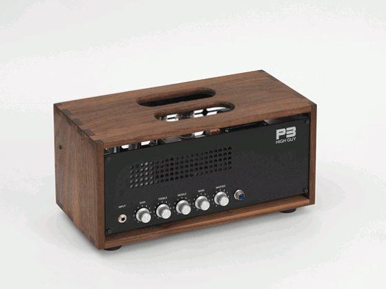 p3 custom guitar amp designer botique high guy head walnut 560x420 photo productarium. Black Bedroom Furniture Sets. Home Design Ideas