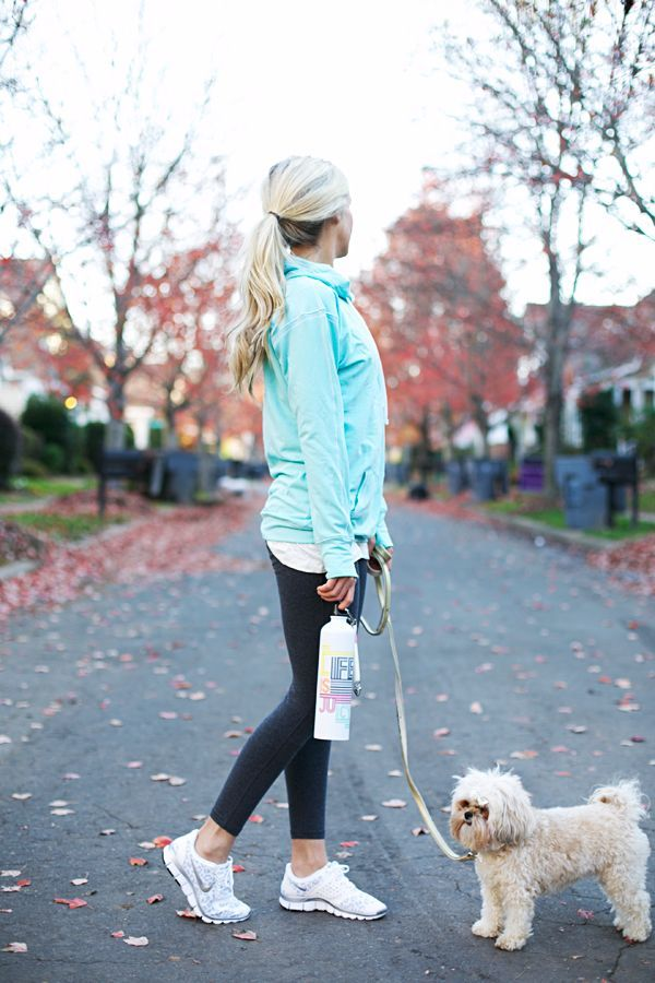 Cute workout jackets for your brisk morning run. | Click to see more on ShopStyle.com