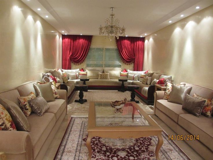 Cliquez pour agrandir et passer en diaporama salon deco pinterest contente all es et for Salon marocain moderne nice