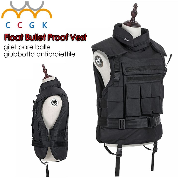 409.18$  Buy here - http://alis3o.worldwells.pw/go.php?t=32374441436 - Floating Kevlar Bullet Proof Military Tactical Vest nij-iiia.44 Bulletproof Waterproof And Flame Retardant 600D Oxford Army Vest 409.18$
