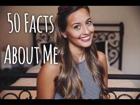 50 Facts About Me | Kristin Lauria - YouTube