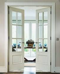 interior french doors half glass - Google Search