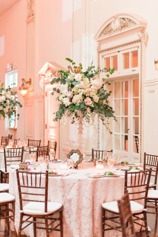 Elegant Ballroom Wedding at Bourne Mansion / Elizabeth Anne Designs