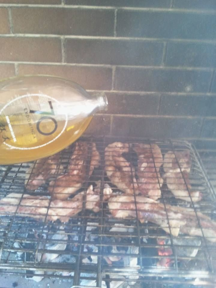 70 EVDOMINDA also in bbq by a friend!