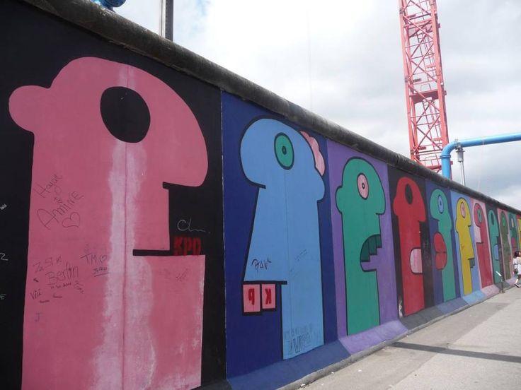 Arte sobre el Muro de Berlín