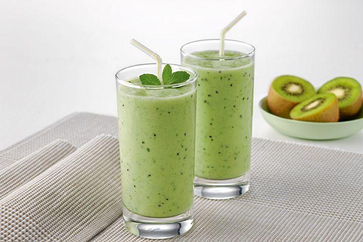 Kết quả hình ảnh cho Honeydew Kiwi Fruit smoothie