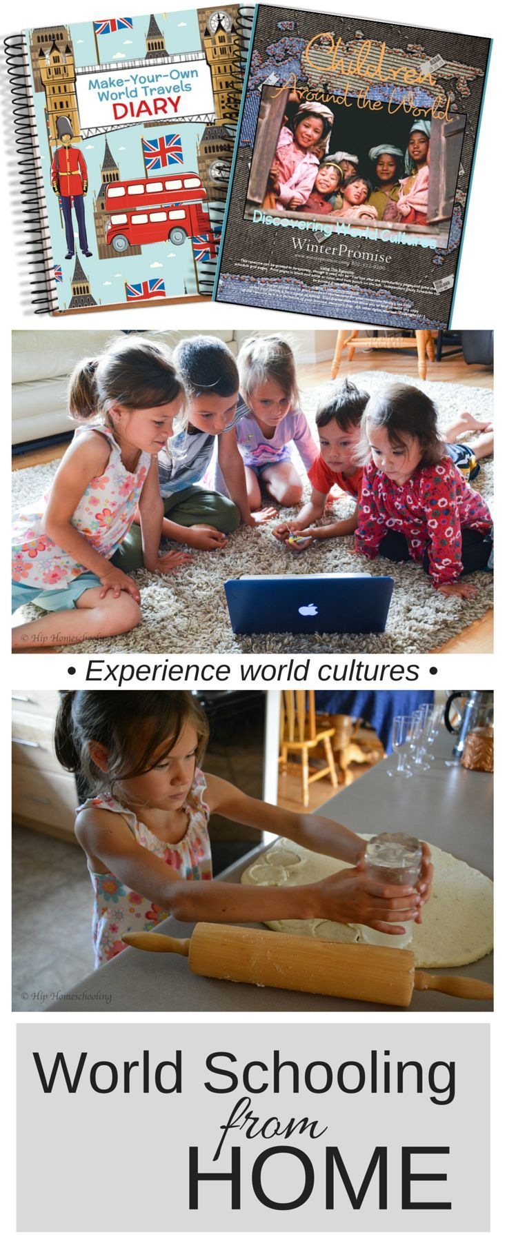 World Schooling from Home: Ideas for learning about other cultures from the comfort of your own home.