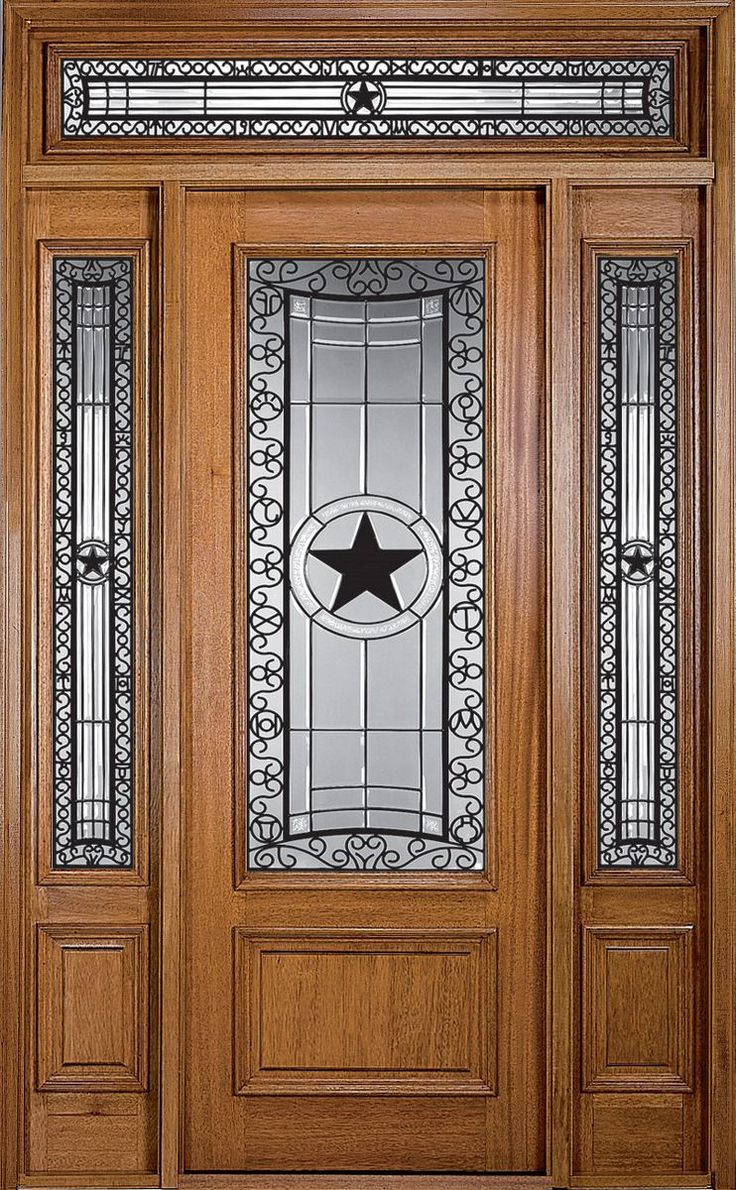 Texas Star Door ☆ This Will Be The Front Door To My House