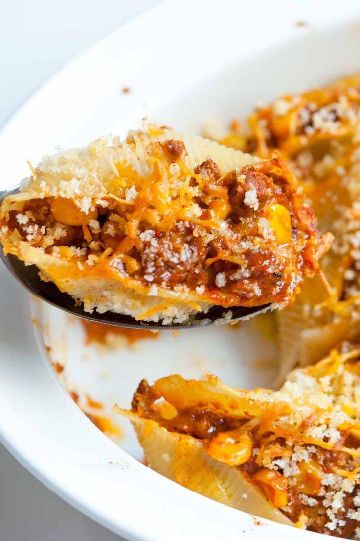 Recette tacos mexicains : coquilles farcies à la mexicaine