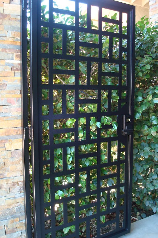 Contemporary Metal Gate For The Home Pinterest
