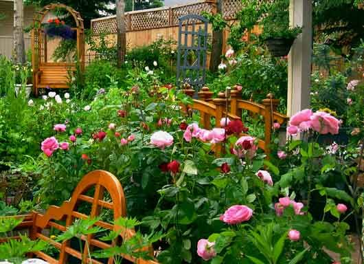 English Cottage Garden Gardens Gardens And More