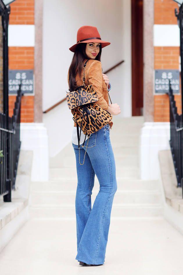Frame Denim Blue Denim Women's Bootcut Jeans