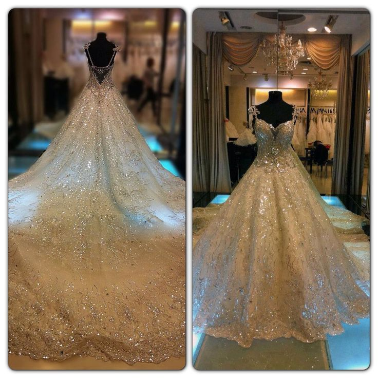 My dream wedding dress right here!!! Just can't imagine how expensive it is!