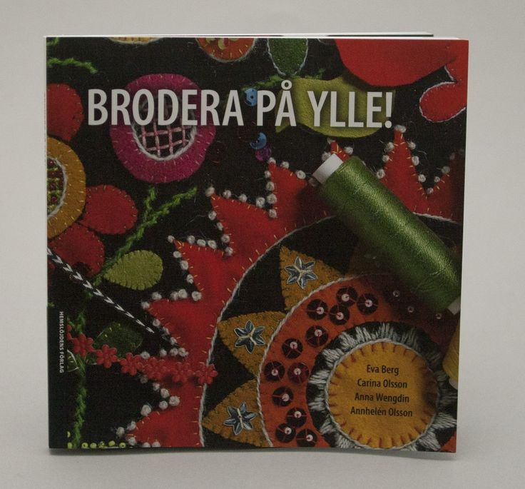 Brodera på Ylle via Svensk Hemslöjd. Click on the image to see more!