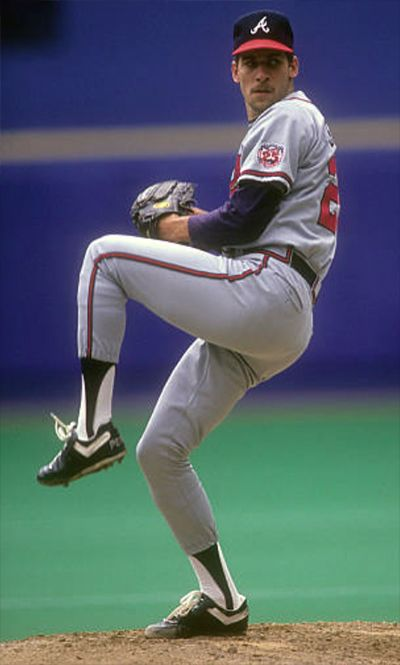 John Smoltz  One of my favorite all time pitchers.  Amazing in the post season during his Braves career.
